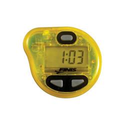 FINIS菲尼斯 节拍器防水游泳跑步骑行运动频率训练节奏器初学装备 黄色