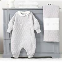 L-LIANG 良良 婴儿睡袋 秋冬加厚可拆袖 85*39cm *2件