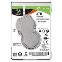 SEAGATE FireCuda 2TB 2.5英寸SSHD内置混合硬盘
