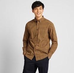 UNIQLO 优衣库 421173 男士格子衬衫