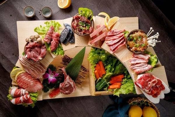 12层阶梯烤肉!上海 角屋北海道烧肉专门店 双人餐 4店通用