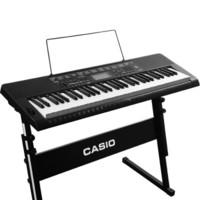 CASIO卡西欧CTK-3500 成人61键 初学者入门电子键盘乐器 电子琴+琴架+琴罩+键盘贴+教材