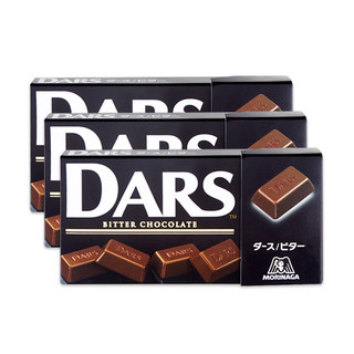 Morinaga 森永 日本进口dars黑巧克力129g(3盒装