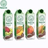 路易森 乌克兰原装进口果汁饮料 苹果葡萄 950ml*4盒