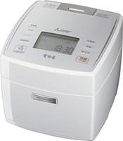 三菱电机 IH电饭煲 备长炭蒸锅 可蒸5.5合(约0.99升) 纯白色 NJ-VE108-W