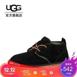 1212预售:UGG 秋季男士单鞋休闲时刻系列休闲鞋 1016680 BLK 42
