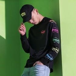 H&M POST IT系列 0759937 男装联名款卫衣