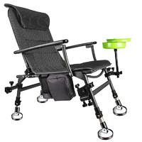 渔之源新款钓椅钓鱼椅折叠多功能欧式全地形可躺座椅加厚台钓椅子