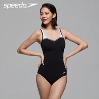 SPEEDO 速比涛 810600 纤姿系列 女士连体泳衣 *2件