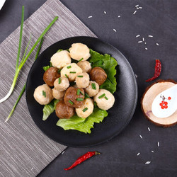迪亚斯 火锅丸子组合(牛肉丸香菇贡丸鱼丸) 500g *3件