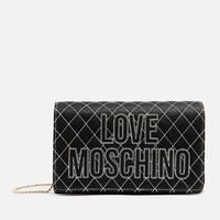 LOVE MOSCHINO Quilted Logo 女士单肩包
