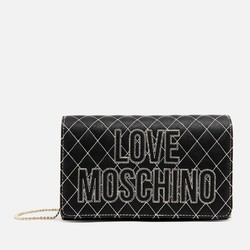 LOVE MOSCHINO Quilted Logo 女士单肩包
