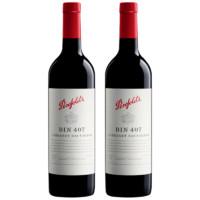 Penfolds 奔富 BIN407 赤霞珠干红葡萄酒 750ml*2瓶