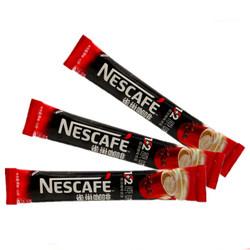 咖啡 1+2速溶咖啡粉三合一散装 特浓10条装