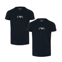 银联专享:EMPORIO ARMANI Mens 2 Pack T-Shirt 男士T恤 2件装