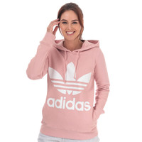银联专享:adidas Originals Womens Trefoil Hoody 女士卫衣