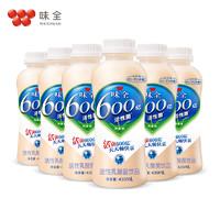 wei-chuan 味全 活性乳酸菌芦荟乳酸菌饮料乳制品 435ml*6