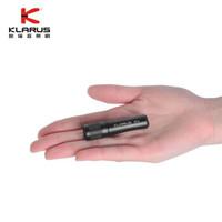 KLARUS 凱瑞茲MI6強光迷你AAA手電筒鑰匙扣小手電戶外輕巧方便應急 黑色