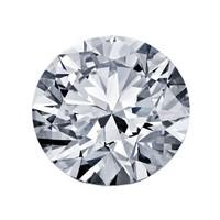 Blue Nile 1.00克圆形切割钻石(切工EX 成色G色 净度VS1)