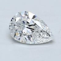 Blue Nile 2.00克拉梨形钻石(切工VG 成色D色 净度IF)