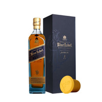 JOHNNIE WALKER 尊尼获加 蓝牌 调配型苏格兰威士忌 750ml