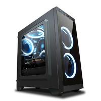京天 台式电脑主机(i5 9400F、8GB、128GB、GTX1060)