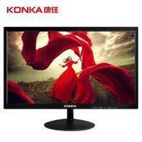 KONKA 康佳 KM2211 21.5英寸全高清 电脑显示器(限plus,需用券)