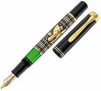 Pelikan 百利金 特别版 Toledo 小金雕钢笔 18K M尖