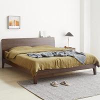 维莎 s0430 日式实木双人床 1.8米床