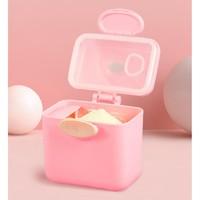 TOTKOKO 当果果 婴儿便携式奶粉盒 带勺子