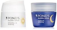 旁氏(Pon's) | | 双倍美白 美白精华液套装 日用・夜用 28g+28g 日本正品