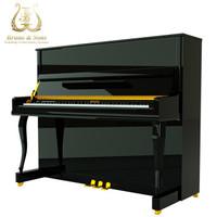 德國品質鋼琴UP123家用考級演奏立式鋼琴全國聯保 30天想退就退 up123黑色頂配 終身質保+送貨到家
