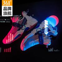 361运动鞋男正品男鞋冬季保暖老爹鞋ins棉鞋2018新款韩版百搭跑鞋