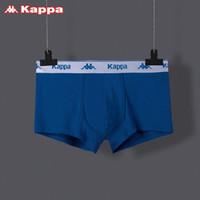 Kappa/卡帕 60S莫代尔男士内裤舒适透气平角中腰四角内裤 男运动无痕 *3件