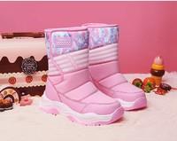 贵人鸟 女童加绒雪地靴