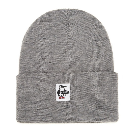 CHUMS 洽洽鸟 Logo缝饰 针织帽