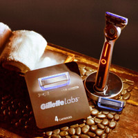 Gillette 吉列 LABS热感 手动剃须刀 礼盒套装 (1刀架+6刀头)