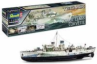 Revell 00451 1:72 花级护卫舰带电子装置,等级5,原产仿真