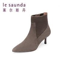 莱尔斯丹 8T56723 春秋女款单靴