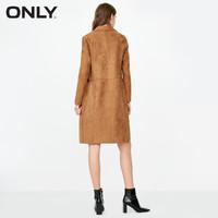 双12好价:ONLY冬季新款简约绒面大口袋外套女|118336526