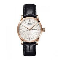 美度MIDO舵手系列钻石镶嵌时标日期星期双显示男士机械手表