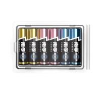 (2人拼团)南孚(NANFU)通用7号七号碱性电池6粒 新旧不混塑扣多色装干电池 家用电源