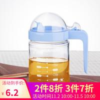 金熊 500ML防漏油壶调味罐调料瓶酱油醋瓶  颜色随机 *3件