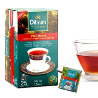 Dilmah 迪尔玛 优选锡兰红茶包 2g*25片