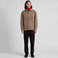 UNIQLO 优衣库 设计师合作款 419542 摇粒绒衬衫式夹克