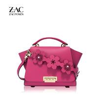 预售ZAC Zac Posen牛皮Convertible Backpack花朵肩带单双肩包