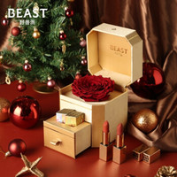 THEBEAST/野兽派双重自我金色永生花礼盒 圣诞节生日礼物送女生 金色