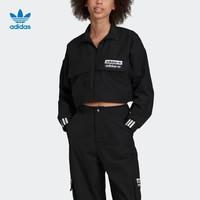 阿迪达斯官网 adidas 三叶草 TRACK TOP 女装立领长袖外套ED7444