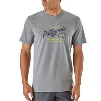 Patagonia 男式 夏季短袖 棉T T恤 LOGO-T 39176