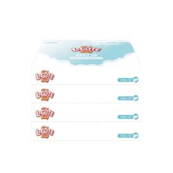 LaCUTE 乐可爱 婴儿保湿纸 60抽 4包装